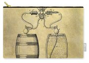 Beer Pump Patent Carry-all Pouch