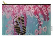 Bees In Pink Carry-all Pouch