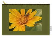 Bees Love Coreopsis Carry-all Pouch