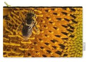 Bee's Sunflower Carry-all Pouch