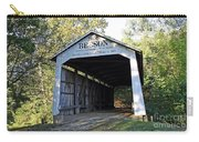 Beeson Covered Bridge Indiana Carry-all Pouch