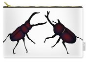 Beetle And Stag Beetle Carry-all Pouch