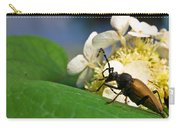 Beetle Preening Carry-all Pouch