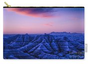 Before Sunrise, Badlands National Park Carry-all Pouch