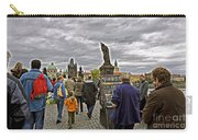 Before The Rain On The Charles Bridge Carry-all Pouch
