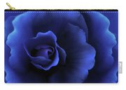 Begonia Floral Dark Secrets Carry-all Pouch by Jennie Marie Schell