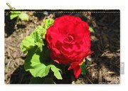 Begonia Flower - Red Carry-all Pouch