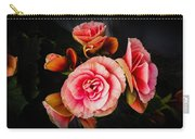 Begonia In Pink Carry-all Pouch