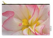 Begonia Pink Frills - Vertival Carry-all Pouch