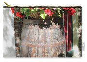 Begonias In The Barrel Carry-all Pouch