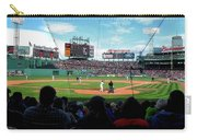 Behind Home Plate At Fenway Carry-all Pouch