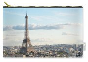 Paris Roofs And Tower Carry-all Pouch