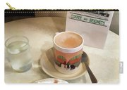 Beignet And Coffee At Cafe Du Monde Carry-all Pouch