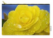 Bejeweled Begonia Carry-all Pouch