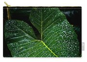 Bejeweled Leaf Carry-all Pouch