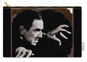 Bela Lugosi Circa 1935-2015 Carry-all Pouch