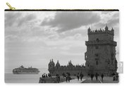 Belem And The Boat Carry-all Pouch