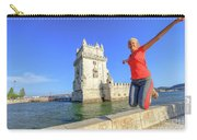 Belem Tower Jumping Carry-all Pouch