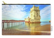 Belem Tower Reflects Carry-all Pouch