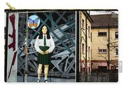 Belfast Mural - Butterfly - Ireland Carry-all Pouch