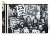 Belfast Mural - Civil Rights - Ireland Carry-all Pouch
