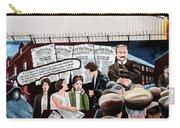Belfast Mural - Headlines - Ireland Carry-all Pouch