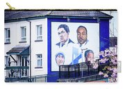 Belfast Mural - Humanitarians - Ireland Carry-all Pouch