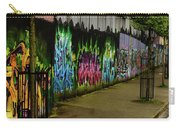 Belfast - Painted Wall - Ireland Carry-all Pouch
