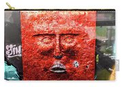 Belfast Wall - Red Face - Ireland Carry-all Pouch