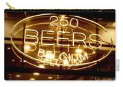 Belgian Beer Sign Carry-all Pouch