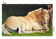 Belgian Horse Foal Carry-all Pouch