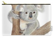 Believing Carry-all Pouch by Phyllis Howard