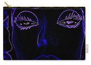 Belinda In Blue Carry-all Pouch