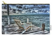 Belize Beach Chair #2 Carry-all Pouch
