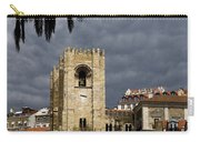 Bell Tower Against Roiling Sky Carry-all Pouch