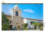 Bell Tower  In Carmel Mission-california  Carry-all Pouch