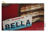 Bella License Plate Carry-all Pouch