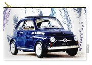 Bella Macchina 8 - Fiat 500 F Carry-all Pouch