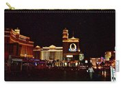 Bellagio And Caesar's Palace In Las Vegas-nevada Carry-all Pouch