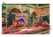 Bellagio Christmas Train Decorations Angled 2017 2 To 1 Aspect Ratio Carry-all Pouch