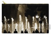 Bellagio Fountain At Night Carry-all Pouch
