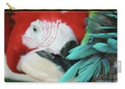 belle Ara Macao oiseaux tropicaux de Maui  Carry-all Pouch