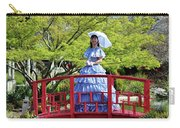 Belle On Red Bridge Carry-all Pouch