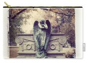 Bellefontaine Angel Polaroid Transfer Carry-all Pouch by Jane Linders
