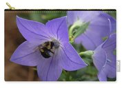Bellflower And Bee  Carry-all Pouch