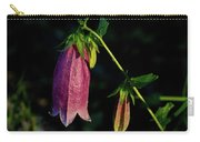 Bellflower In Early Morning Rising Sun Carry-all Pouch