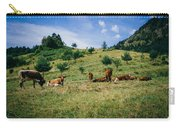 Bells And Cows Carry-all Pouch