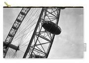 Below London's Eye Bw Carry-all Pouch