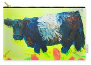 Belted Galloway Cow Looking At You Carry-all Pouch