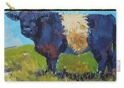 Belted Galloway Cow - The Blue Beltie Carry-all Pouch